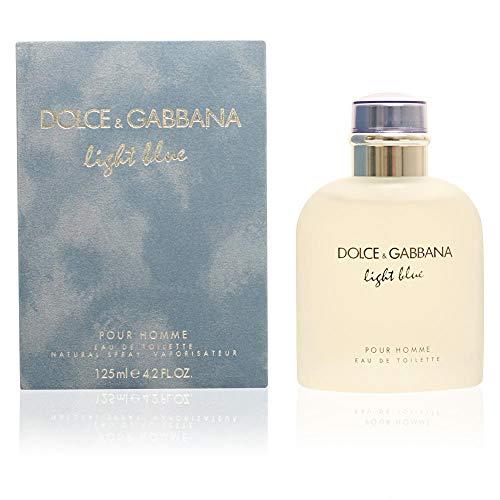 Dolce & Gabbana Eau de Toilettes Spray, Light Blue, 4.2 Fl Oz For Men or/and Pour Homme