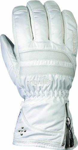 Snowlife Women's Prima GTX XCR Handschuh, S Weiß - weiß