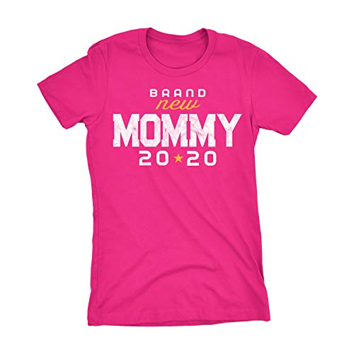 Mommy to Be Gift Womens Shirt Mommy 2020 - Heliconia-Sm