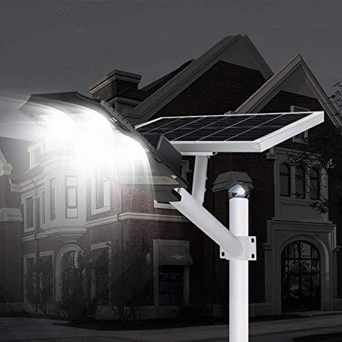 Led, 100W ~ 400W Luz De Sensor De Movimiento De Seguridad De Alto Brillo Con Control Remoto - Luces De Inundación Solares Impermeables Ip65 Para Parques / Garajes / Iluminación De Caminos, 200W