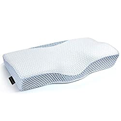 cheap MOKALOO cervical spine pillow, memory foam pillow for sleep, bed pillow for neck pain, orthopedics …