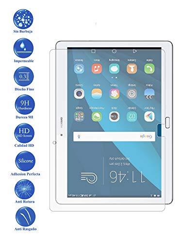 Todotumovil Protector de Pantalla Huawei Mediapad M2 10 de Cristal Templado Vidrio 9H para Tablet