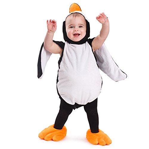 Dress Up America Pinguino bambino Costume Pinguino attrezzatura Pinguino Halloween Dress for bambino