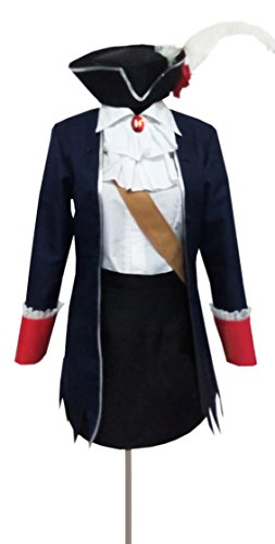 Dreamcosplay Anime Hetalia: Axis Powers Prussia Black Female Uniform Cosplay