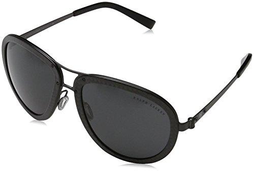 Ralph Lauren 0Rl7053 Gafas de sol, Shiny Carbon, 59 Unisex