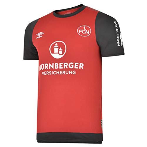 UMBRO Herren FC Nürnberg 19/20 Heim Fußballtrikot rot L