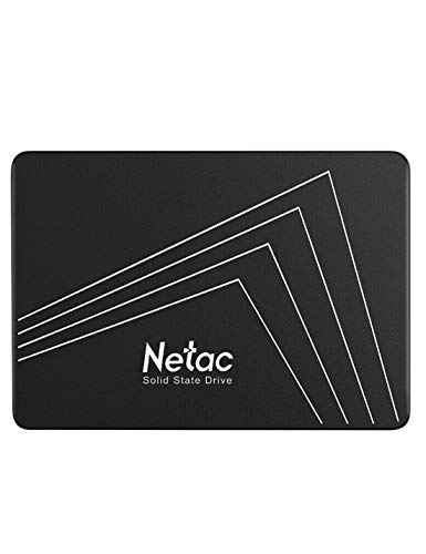 Netac 250G SSD, 3D NAND Flash Internal Solid State Drive 2.5 Inch SATAIII 6Gb/s, up to 530MB/s with SLC Cache for Notebook, tablet, Desktop, PC