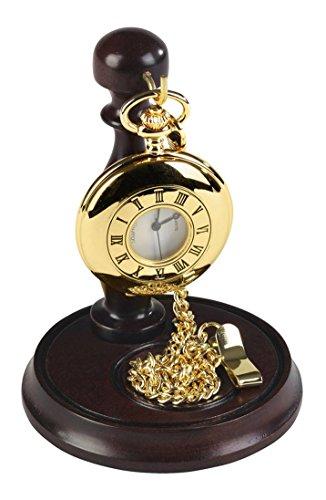 Oro mezza Hunter orologio da tasca con supporto di Burleigh