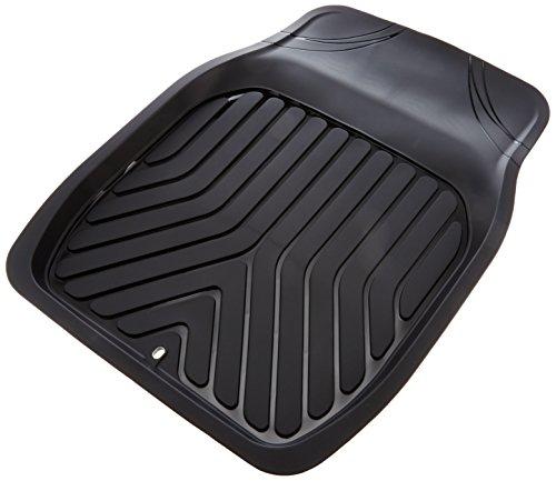ボンフォーム カーマット 3Dプライム 前席用 防水 バケット ブラック フロント1枚 48x65cm 普通車用 6279-0...