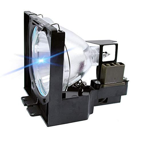 Molgoc 610-282-2755 LMP24 - Lampadina di ricambio per proiettore SANYO PLC-XP17/XP18/XP20/XP21/XP21N; EIKI LC-X983/X984/X990/X999