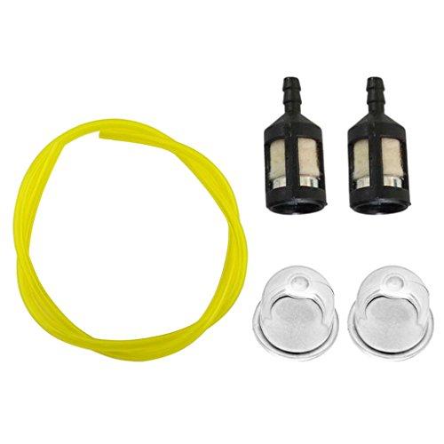 Sharplace Kit de Assemblage Tuyau d'Essence Filtre Carburant Ampoule d'Amorçage Coupe-bordures