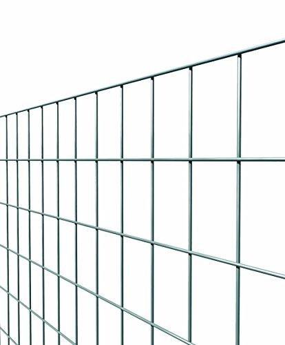 Es Brico Rolle mit 25m lang und 150cm hoch von Stahlgitter geschweißt und verzinkt Maschenweite: 50x 75mm für Zaun