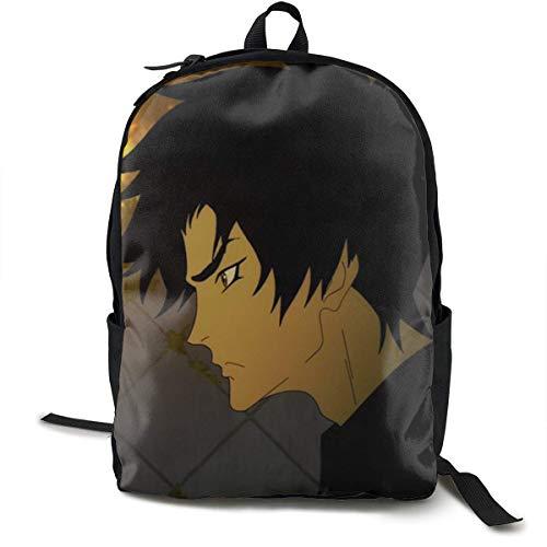 Devilman Crybaby Rucksack für Mann Leichte Reiserucksäcke Student Rucksack Business Langlebiger Rucksack mit großer Kapazität