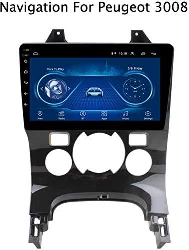 YDD 1080P Android 8.1 dello schermo di tocco auto Multimedia Player dispositivi Peugeot navigazione GPS Canbus 3008 2013-2018 / / Speaker/FM/AM/Internet/AUX/USB/Bluetooth vola.