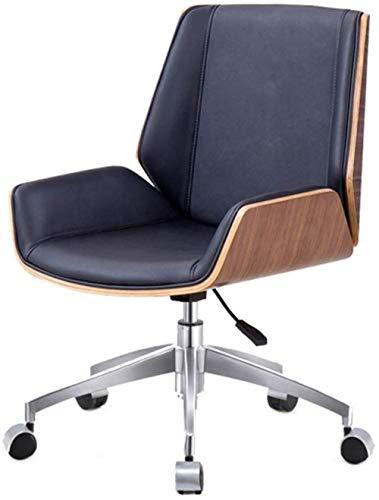 Taburetes Xiuyun Sillas de Escritorio Silla giratoria de sillas de Oficina Silla de la Oficina Principal Lazy Moda Silla giratoria pequeñas sillas Elevadoras