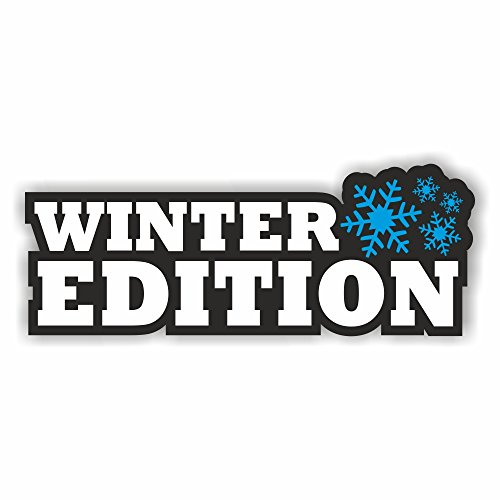 foliezentrum 1x Winter Edition 13 x 5 cm sticker Tuning 394 Shocker Auto JDM OEM Dub Decal Sticker Illest Dapper Oldschool Folie