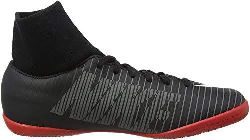 Nike Jr. Mercurial X Victory 6 Dynamic Fit IC, Zapatillas de Fútbol Unisex Niños, Negro (Black/White-Dark Grey-University), 33 EU