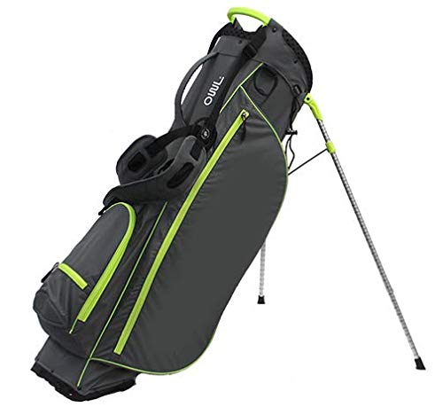 OUUL Air Light SC Stand Bag Charcoal/Neon Yellow