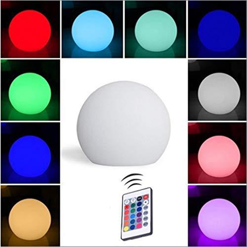 16 Cambio de Color Luz LED para Juguetes de Baño, con Mando a Distancia, IP68 a Prueba de Agua Luces Flotantes para Piscina, para Jardín, Patio Trasero, Estanque, Decoración de Fiesta (Size : 6pcs)