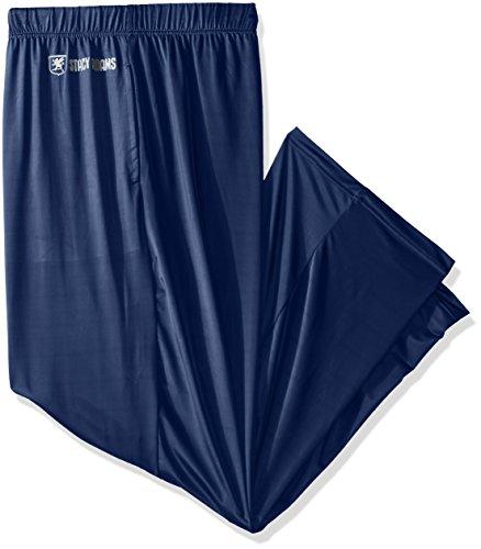 STACY ADAMS Tall Men's Big Sleep Pant, Navy, 3XL