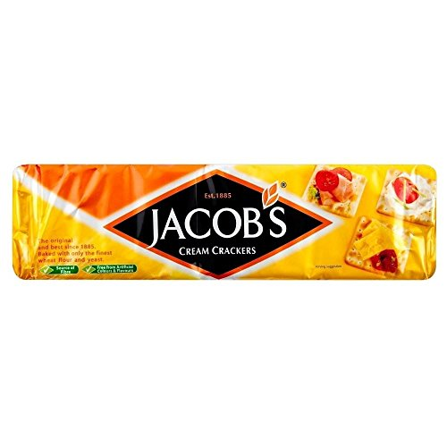 Jakobs Cream Crackers (300 g) - Packung mit 6