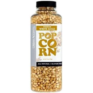 Urban Accents Premium White Gold Popcorn 453g case of 2