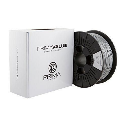PrimaCreator PrimaValue 3D Drucker Filament - PLA - 1,75 mm - 1 kg - Silber