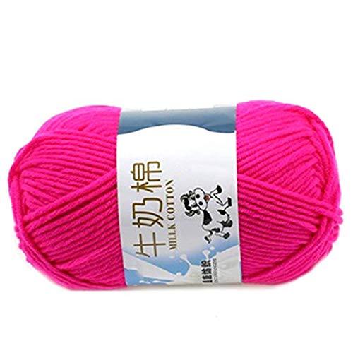 Zerama Warm DIY Milk Cotton Yarn Baby Sweater Yarn Knitting Children Hand Knitted Knit Blanket Crochet Yarn