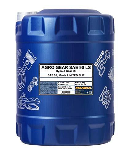 MANNOL 10 Liter, Agro Gear SAE 90 LS GL-5 Getriebeöl