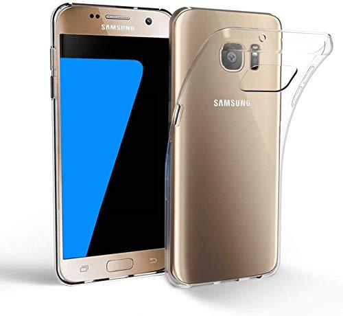 EasyAcc Hülle Case für Samsung Galaxy S7, Dünn Crystal Clear Transparent Weich Handyhülle Cover Soft Premium-TPU Durchsichtige Schutzhülle Kompatibel mit Samsung Galaxy S7