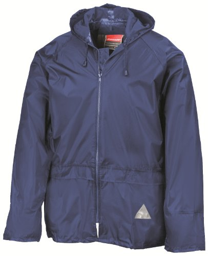 ADULTS FULLY WATERPROOF JACKET AND TROUSER SET - 5 COLOURS (MEDIUM, ROYAL BLUE)