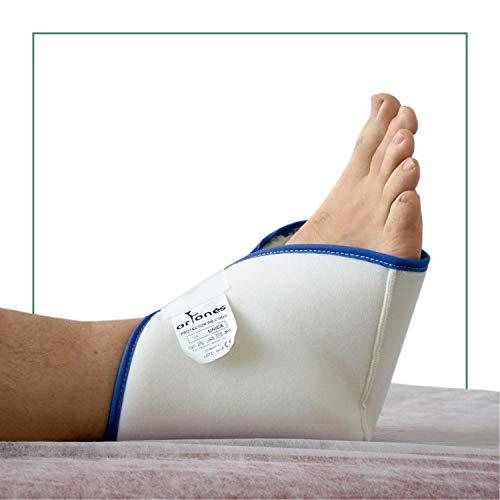 ORTONES | Par de Taloneras Patucos antiescaras | Protector de pie, talón o codo | Para Cama y Silla de Ruedas