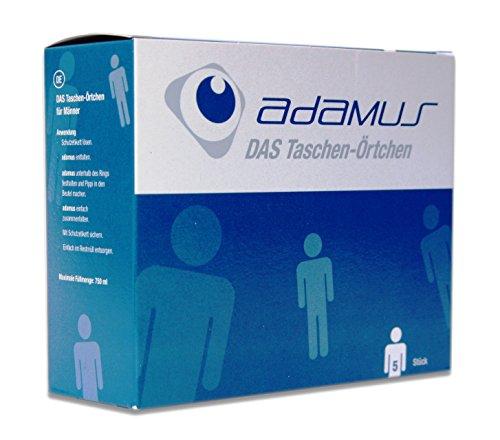 Adamus Reisetoilette Notfall- WC, Taschenörtchen für Männer, 5 -er Pack Männer 5-er Pack / Taschen- Örtchen
