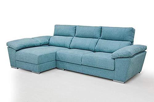 Mueble Sofa Chaiselongue, 3 plazas 290 cms, Asientos Viscoelastica, Subida A Domicilio, ref-08