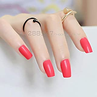 Business Ventures Reusable Artificial Nails with Glue, Set of 24