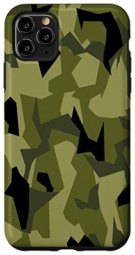 iPhone 11 Pro Max Swedish M90 Sweden Camo Camouflage Army Military Case