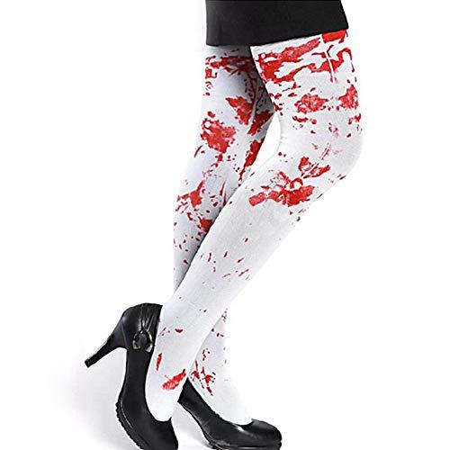 Majome Halloween Bloodshed Sokken Verpleegster Bloedige Sokken Party Masquerade Kostuum Accessoires