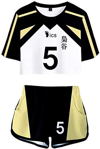 COUCOU Age Haikyuu Cosplay Shirt Nekoma Kuroo Tetsurou Oikawa Tooru School Uniform Jersey Top Shorts Suit Set