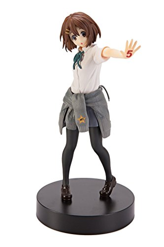 "Banpresto K-ON! Yui Hirasawa 7"" SQ Figure 5th Anniversary"