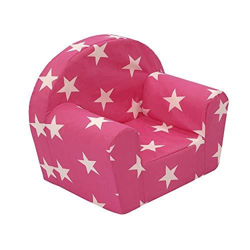 Vicco Kindersessel Kindersofa Minisofa Kindermöbel Sessel Sofa Schaumstoff (Sterne)