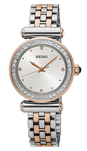 Seiko Analog White Dial Women's Watch - SRZ466P1