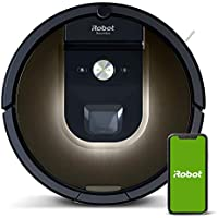iRobot Roomba 981 Robot Vacuum-Wi-Fi Connected Works With Alexa