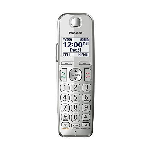 Panasonic KX-TGEA40S DECT 6.0 Additional Digital Cordless Handset for KX-TGE463S, KX-TGE474S, KX-TGE475S (Renewed)