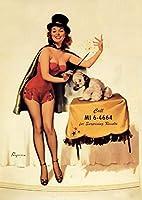 大人のためのエレガントな女性のダイヤモンド絵画キット、クリスタルラインストーン付き5DフルドリルDIYアート&クラフトアートワーク装飾ギフトセット(正方形40X50cm)