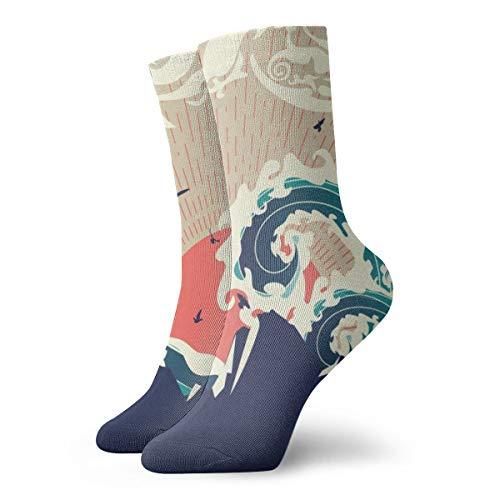 Calcetines tradicionales japoneses para hombre y mujer, ligeros, cómodos, adecuados para todas las actividades en todas las condiciones meteorológicas