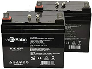 Raion Power RG12350FP 12V 35Ah Replacement Wheelchair Power Scooter SLA Battery for Drive Medical Daytona 3-2 Pack