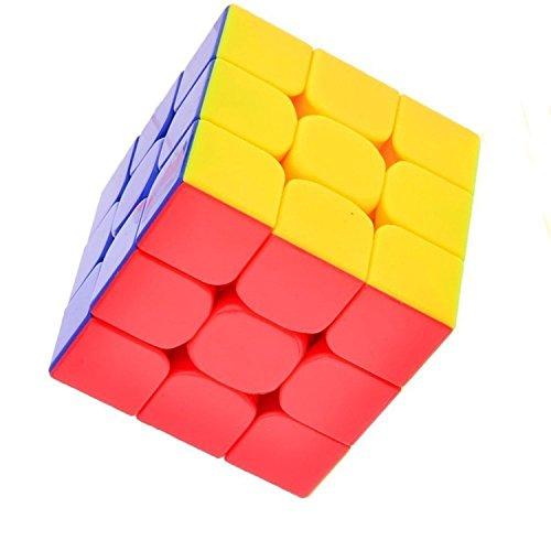 CYCLONE BOYS FunnyGoo Feijue Mugua FEIJUE 3x3x3 Speed Cube Cubo m/ágico Speed Puzzle Cube 3 Capas Cube Stickerless