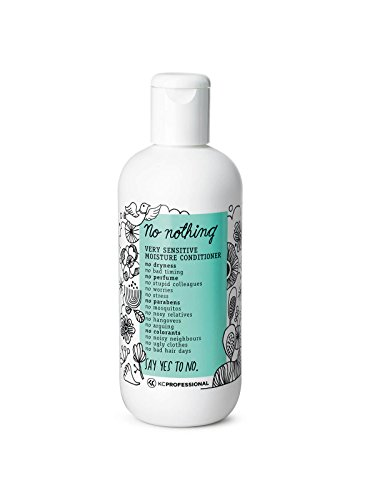 100% Vegan Moisture Conditioner - Hypoallergenic Conditioner Moisturizes Dry and Damaged Hair - Allergen Free, Fragrance Free, Paraben Free, Unscented, Gluten Free, 10.15 oz