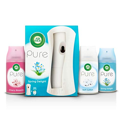 AirWick Air Freshener Freshmatic Pure Auto Spray Bundle, Mixed Fragrances -...