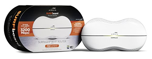 ARRIS Surfboard AC3200 Wi-Fi Router with RipCurrent Using G.hn...